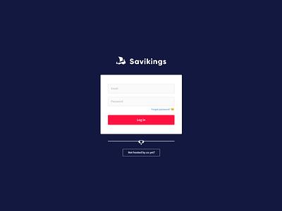 Savikings Panel - Auth layout drakkar blue login auth savikings hosting