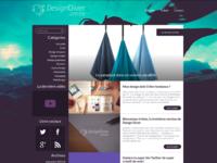 New version of DesignDiver.fr