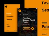 BboyEvent menu & details preview