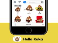 Hello Kaka stickers for iMessage