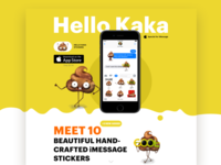 Hello Kaka Landing page