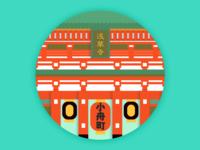 Asakusa Temple, Japan
