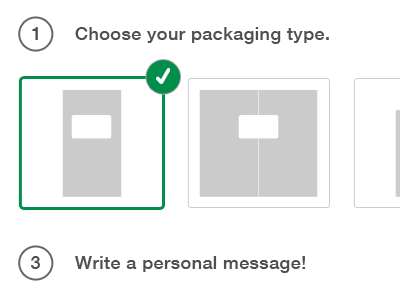 Packify flat ui select web app lightbox modal popup checkbox checked