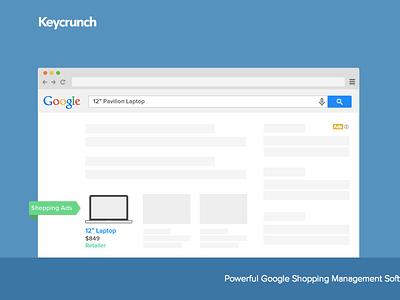 Google Shopping Landing Page google shopping pla flat web app ui ux