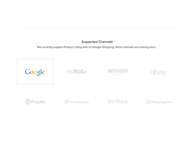 Channels css html flat google channels advertising