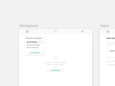 TaskApp WIP flat sketch emberjs python django todo task chat