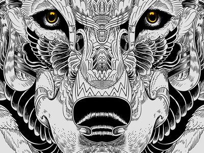 Wolf_LineArt
