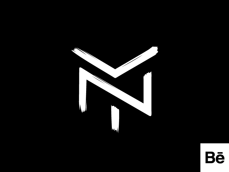 NADIA YURKIV logomark designer showcase project behance brush monogram brand logo fashion ny