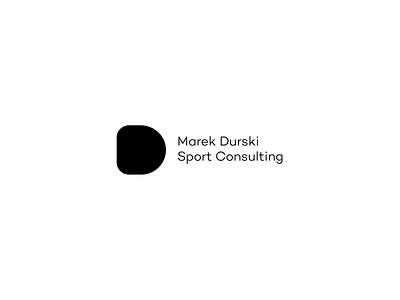 Sport Consulting   Logo ball black  white consulting sport branding aesthetic logo animation minimal design