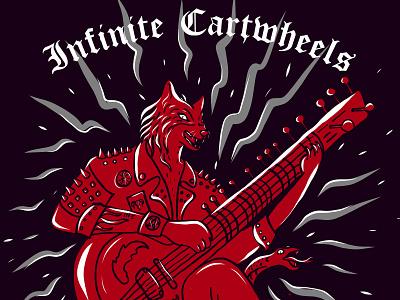 Infinite Cartwheel GigPoster gigposter