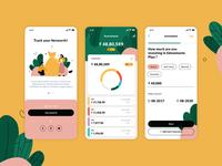 Investment App ui finance design app investment