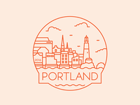 Portland - Travel Badge