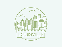Louisville - Travel Badge