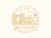 Baltimore - Travel Badge