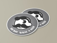 Vintage Boh Coaster - Stickermule Giveaway