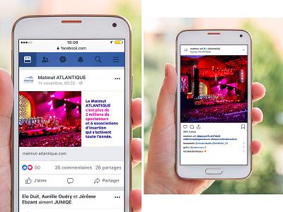 Communication campaign // Stade Matmut Atlantique flashy colors palette stadium communication
