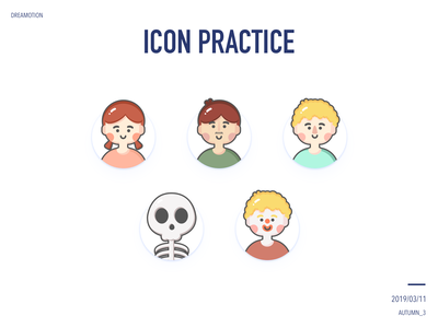 icon practice icon illustration design