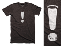 COFFEE! My new shirt design on Cotton Bureau.