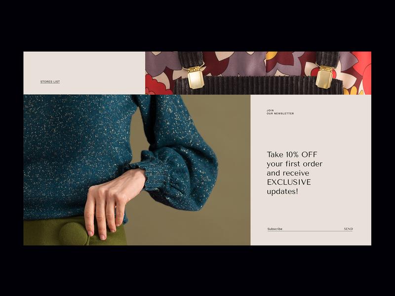 Suede 02 fashion web design digital
