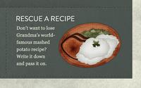 Rescue a Recipe