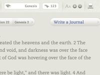Bible interface