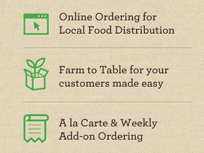 Organic icons ui design ux texture web app dashboard graph dirt natural organic