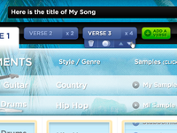 Manage Verses of a Song