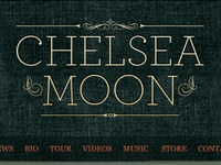 Chelsea Moon Logo/Header