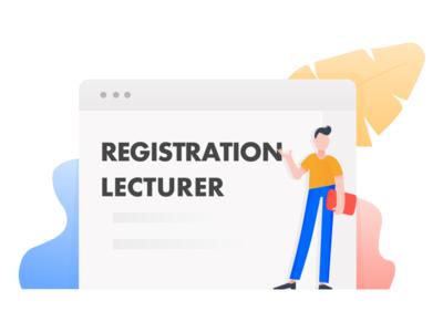 Registration Lecturer