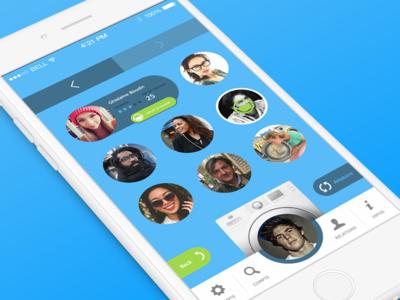 Matching app concept