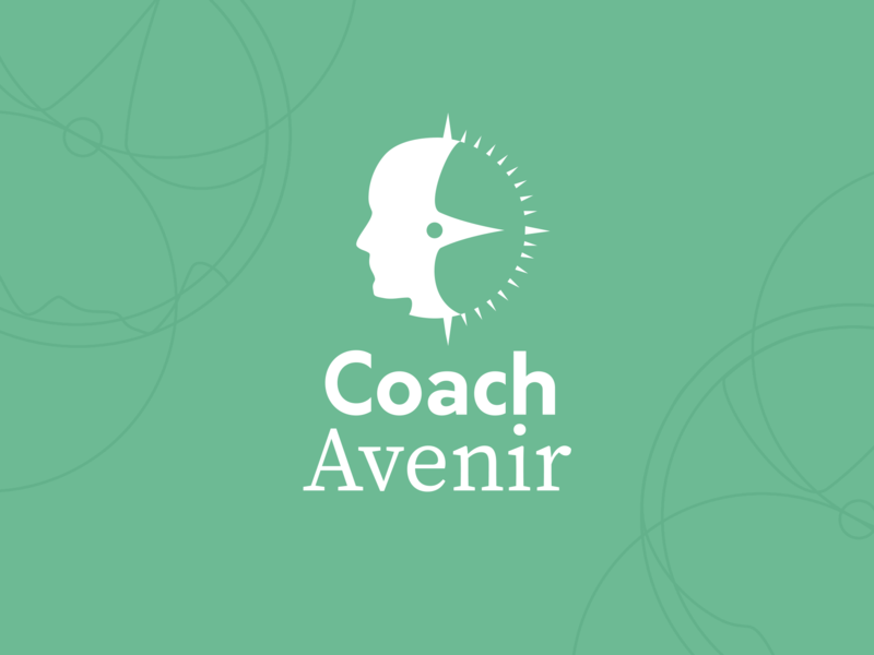 Coach Logotype flat icon typography vector branding logo illustration logotype brand graphic print design