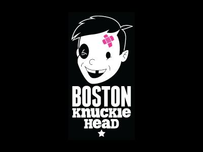 Boston Knucklehead Logo bkh logo illustration boo-boos