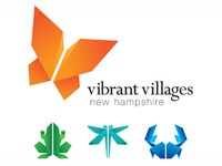 Vibrant Villages NH Logo