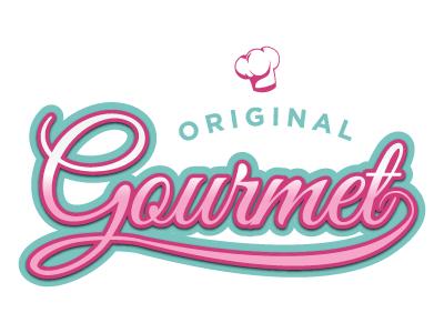 Original Gourmet Logo logo candy