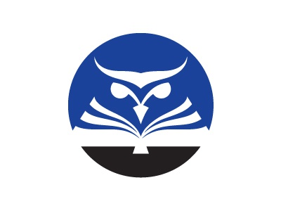 Logo - WIP logo owl book education