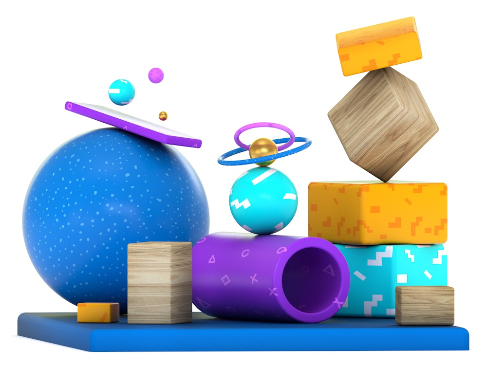 Exploration   001.2 cgi 3d colour colorful app colorful abstract shapes textures design animation graphics motion aftereffects illustration mograph motion design