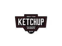Begrudging Ketchup