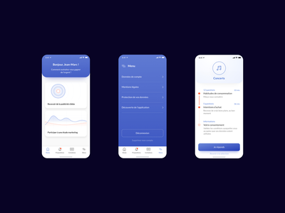 Mobile App app design productdesign uidesign