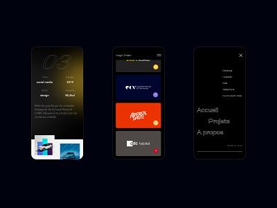 Portfolio 2021 webdesign artdirection portfolio uiux