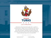 Thanksgiving turkey resume