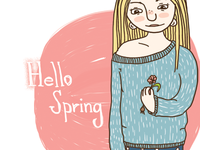 Happy spring to everyone