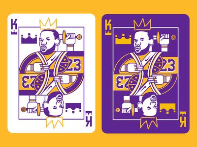 King James Playing Card