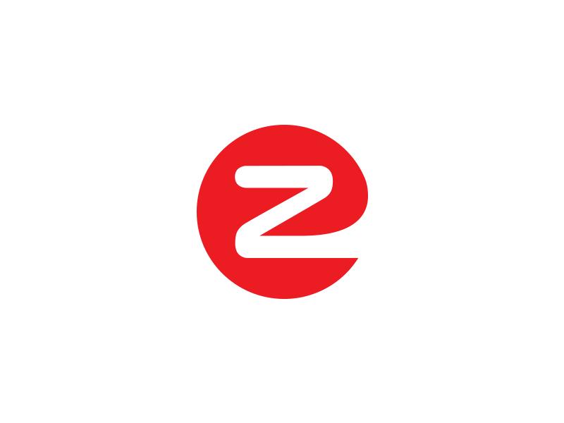 EZ ez eazy red logo branding owdesignz