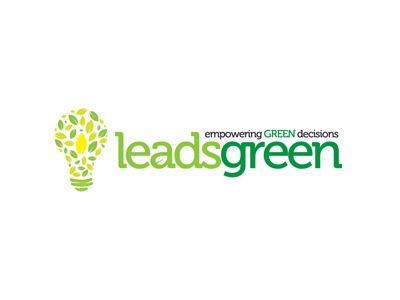 Leadsgreen leadsgreen lightbulb leaves green eco-friendly logo owdesignz