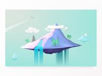 Polygonal Island