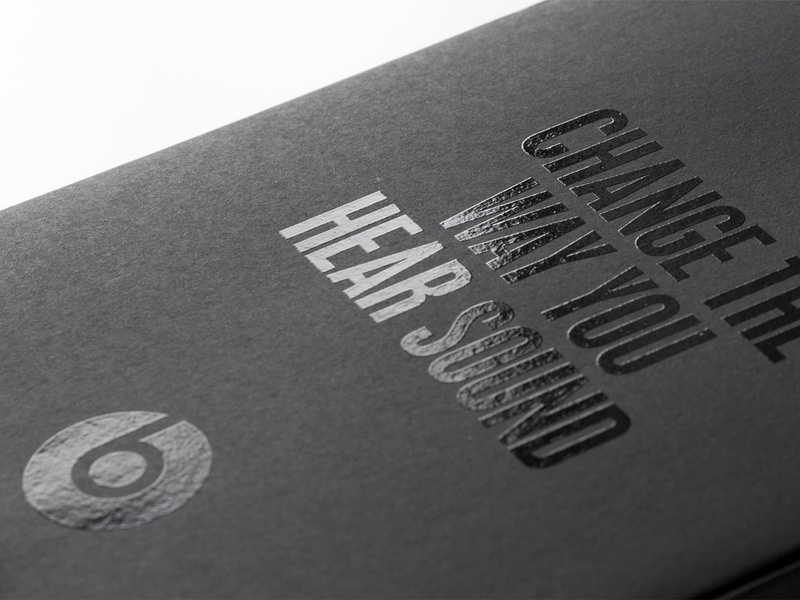 Beats by Dre design system branding beats by dre package design