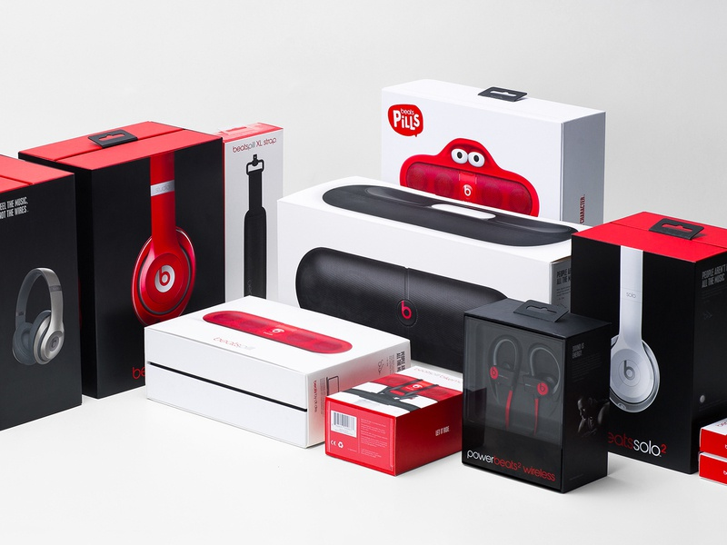 Beats by Dre design system beats by dre branding package design
