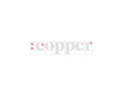 Copper Brand Identity tech naming logo branding brand identity b2b