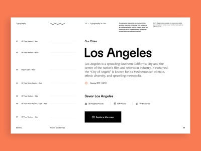 Dorsia Brand Guidelines design system typography design guidelines travel app brand identity branding brand
