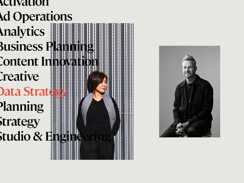 essence editorial photography advertising data science ad tech typography design system design art direction brand brand identity branding